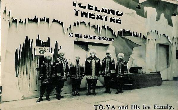 """Tom Jack se svou """"Ice Family"""""""