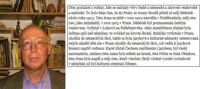 Novinář Petr Brod o svém otci