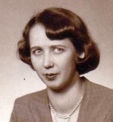 Jeho žena Elisabeth, roz. Hermannová