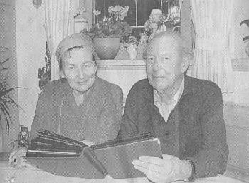 S manželem ve vile zvané Flanitz