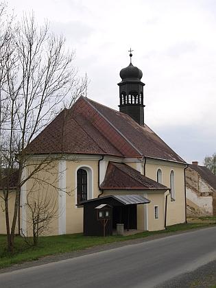 Kostel sv. Jana Křtitele v rodném Maxově