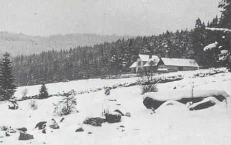 K Maňávce patřívala i schwarzenberská myslivna Oberwald