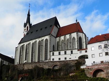 Pokřtěn i oddán byl v českokrumlovském chrámu sv. Víta