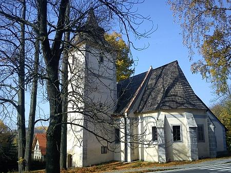 Kostel sv. Anny v rodném Libínském Sedle