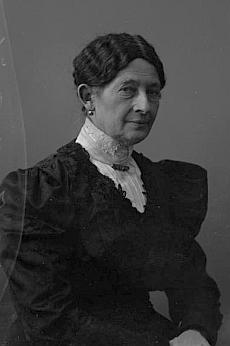 Jeho manželka Marie na snímku Josefa Seidela