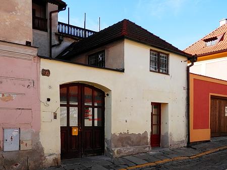 Dům čp. 86 na Českokrumlovském Latráně (viziFranz Khemeter)