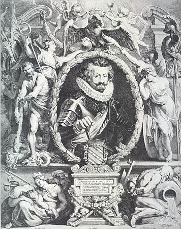 Do Čech přivedl rod Karl Bonaventura de Longueval, baron de Vaux, zachycený tu na mědirytině Lucase Vorstermanna podle olejomalby Petera Paula Rubense z roku 1621 (Rubensův portrét Karla Bonaventury uchovávají sbírky Ermitáže v Sankt Petěrburgu)