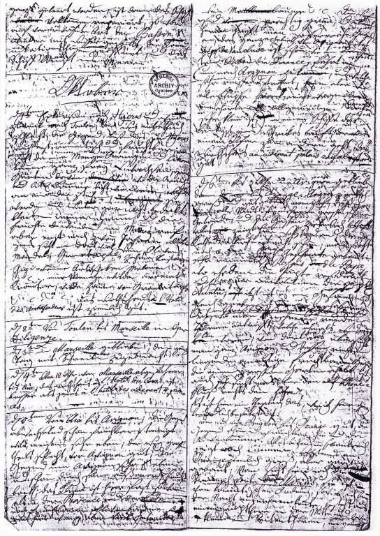 Ukázka z jeho deníku