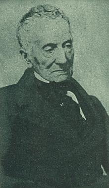 """Kníže """"Mitternacht"""", jak Buquoy nazývá Metternicha, na snímku z let kancléřova stáří"""
