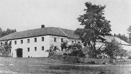 "Rodný dům ve Žlábku, zvaný také ""Boir-Hof""..."