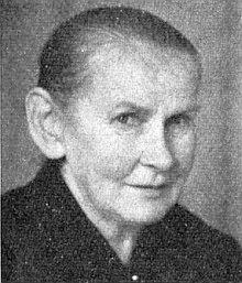 """Maminka Johanna, řečená """"Rauscherin"""", zesnulá v listopadu 1964 ve svých 67 letech"""