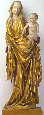 Panna Maria ze Svéraze z 15. století (kolem roku 1420)