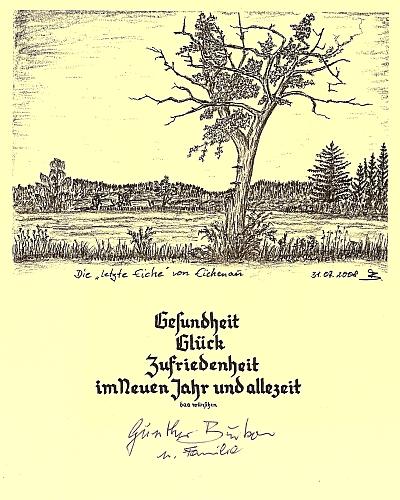 Kresba s vlastnoručním podpisem