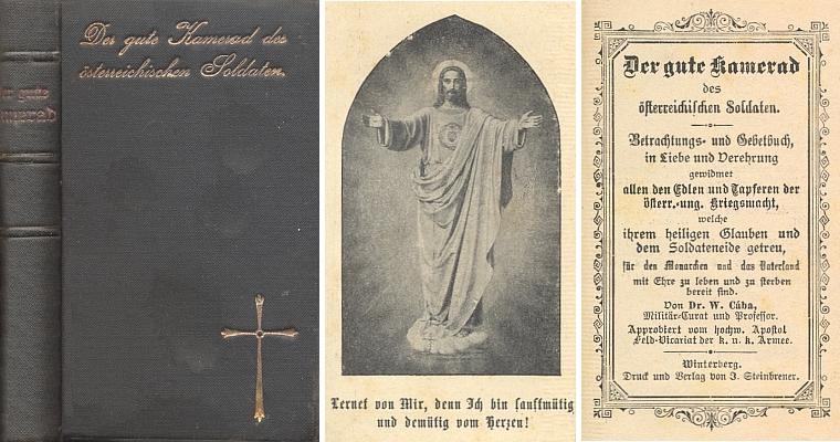 """Obálka, frontispis a titulní list jeho """"vimperské"""" modlitební knížky"""
