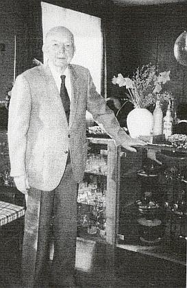 Pan řídící uřitel Ignaz Cely o svých šestaosmdesátinách
