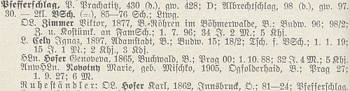 Jeho kolegou na Libínském Sedle byl kromě Viktora Zimmera i Karl Hofer