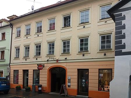 Rodný dům v českobudějovické Kněžské ulici