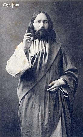 V roli Krista, kterého představoval na scéně hořických pašijových her v letech 1923, 1927 a 1930