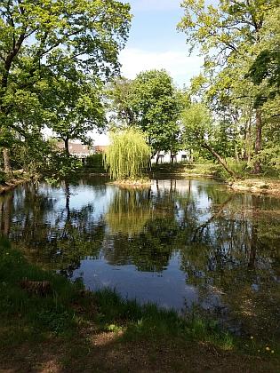 Se zámkem se úprav dočkal i okolní park (2020)