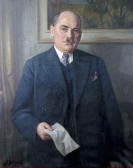 Reprofoto sporného portrétu ve webové galerii starostů města Českých Budějovic