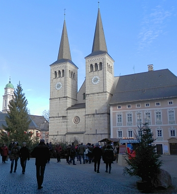 Bavorský Berchtesgaden, kde žila a zemřela