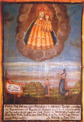 Dobrovodský votivní obrázek z roku 1808