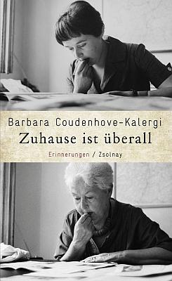 Obálka (2013) jejích memoárů, vydaných nakladatelstvím Zsolnay...