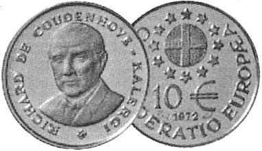 Na první symbolické emisi evropské měny ECU
