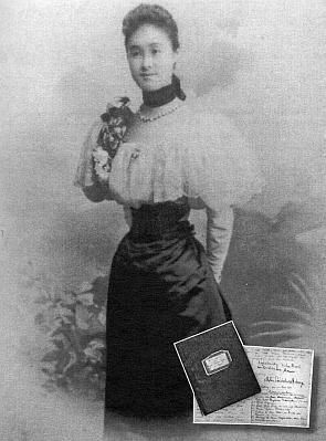 Matka a titulní strany jejích pamětí s jejím podpisem (viz i Ida Friederike Görresová)