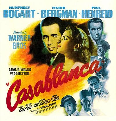"""Jeho osoba byla předlohou postavy """"československého"""" uprchlíka Viktora Laszlo(!) v proslulém hollywoodském      filmu Casablanca (1942, na plakátu vpravo nahoře v podání herce Paula Henreida)"""