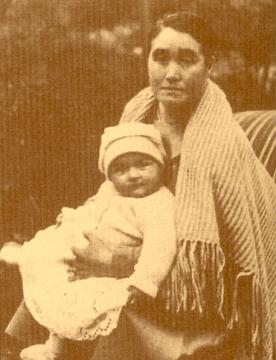 S vnučkou Marií Electou