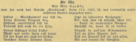 Obálka výroční zprávy Dámského spolku pro zřízení německých dívčích škol v Budějovicích z roku 1917...