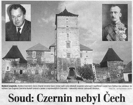 Soudní řízení o otcově národnosti rozvířilo hladinu české justice ještě v roce 2007