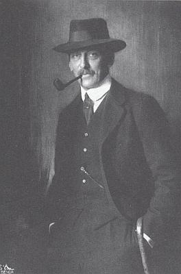 """Jiný snímek Ottokara Czernina, jehož syn se podle Masaryka """"hlásí do naší armády"""""""