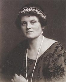 Jeho matka, rozená princezna ze Schwarzenbergu