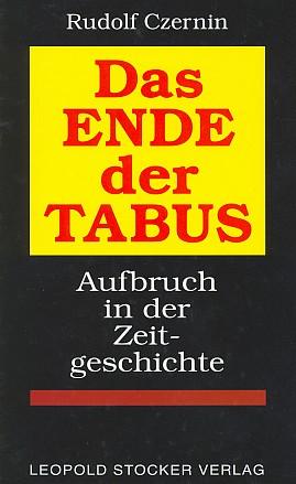 Obálka (1998) knihy, jejíž závěr tvoří Charta německýchvyhnanců z 5. srpna 1950 (nakladatelství LeopoldStocker,Graz)