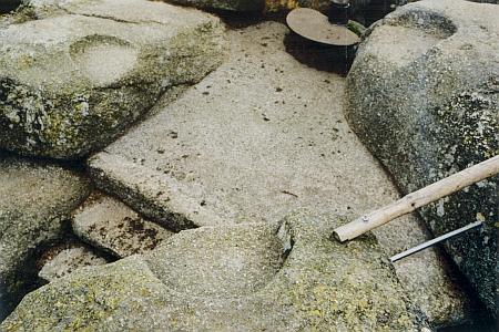 Kamenná křesla na Třístoličníku