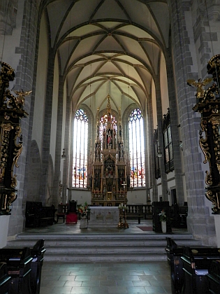 Kostel sv. Hippolyta v rodném Eferdingu