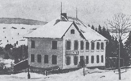 Dům čp. 13 v Dolních Chrášťanech v roce 2018
