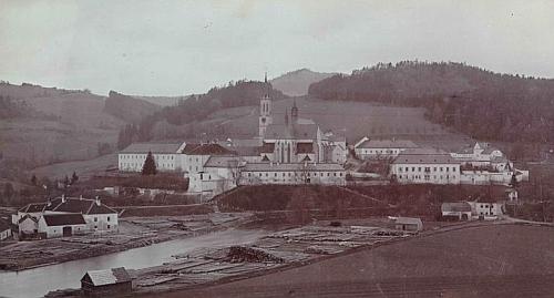 Vyšebrodský klášter sto let po jeho návštěvě