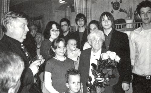 Takto slavila v roce 2008 své devadesátiny
