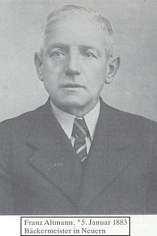 Její otec, nýrský pekař Franz Altmann