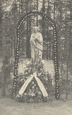"""""""Hřbitovní"""" Madona v Nýrsku"""