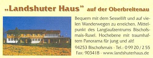 Inzerát (2005) na Landshutský dům