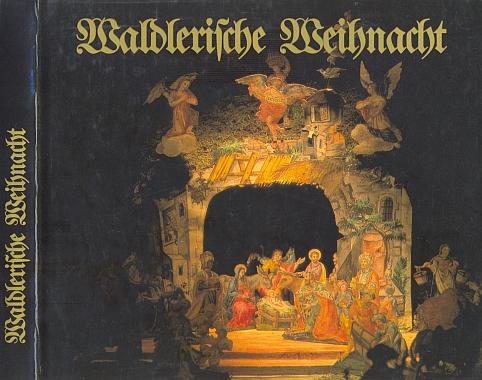 Obálka (1981) vánoční antologie i s jeho verši vydané nakladatelstvím Morsak v Grafenau