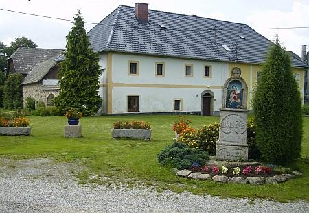 Záběr z Německého Heršláku, odkud pocházela jeho matka