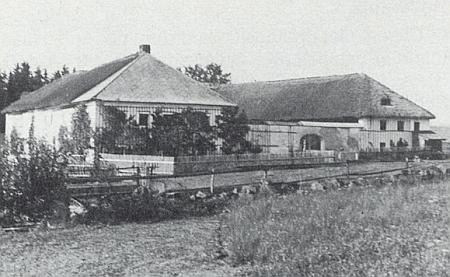 Dům Denkmayrových v zaniklém Konrátově kdysi...