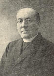 Jeho podobenka na výzvě k podpoře Díla biskupa Neumanna