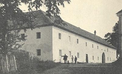 """Rodný dům v Polečnici zvaný """"Josefmhaus"""""""