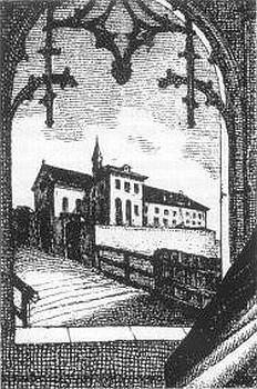 Takto vyhlížel Karmel St. Josef v Innsbrucku v roce svého založení 1846